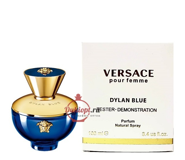 Versace Pour Femme Dylan Blue Tester, 100ml купить духи оптом в ... c9590ad3c90