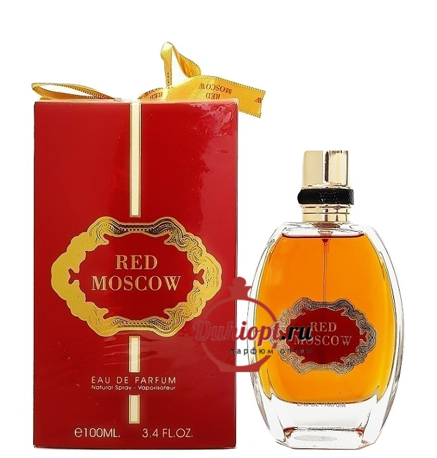 Парфюмерная вода Red Moscow, 100ml