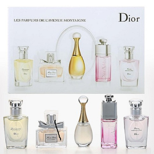 Dior Les Parfums de L Avenue Montaigne Collection (5 Piece Set)FREE Peninsular Delivery