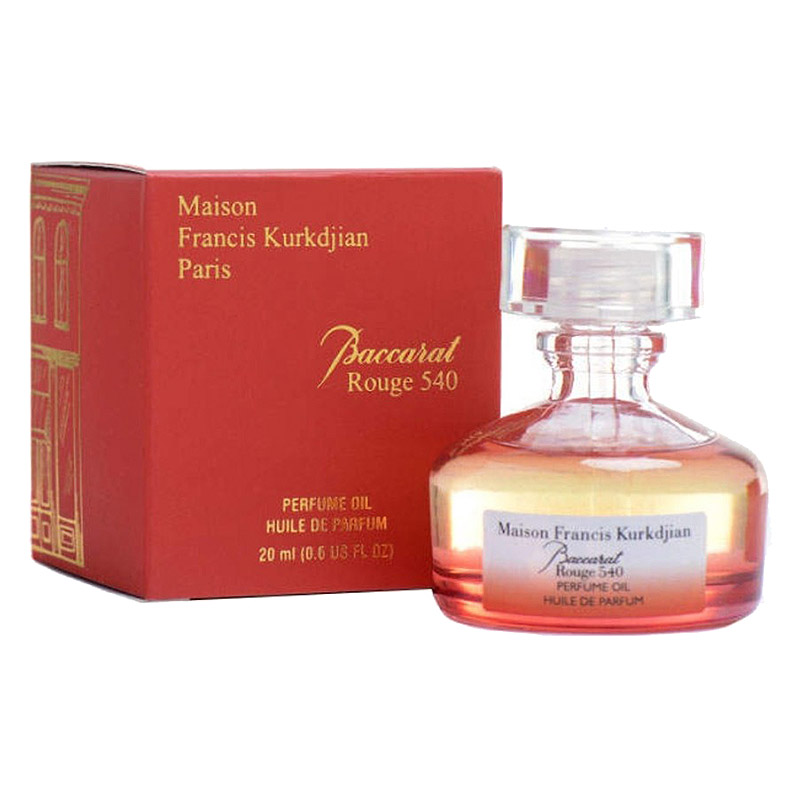 Масляные духи Maison Francis Kurkdjian Baccarat Rouge 540, 20 ml