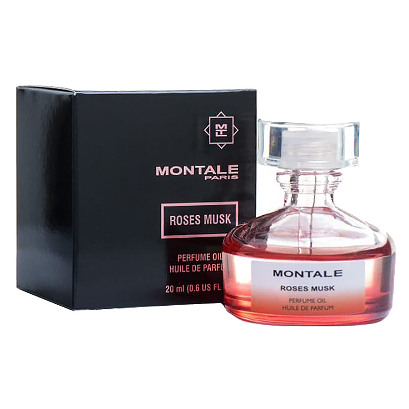 Масляные духи Montale Roses Musk, 20 ml